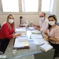 Reunião com Secretário de Saúde