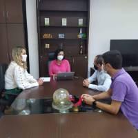 Reunião com a equipe do IFBA